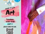 New art workshop in ENGLISH